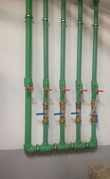 cambio de tuberias de agua caliente