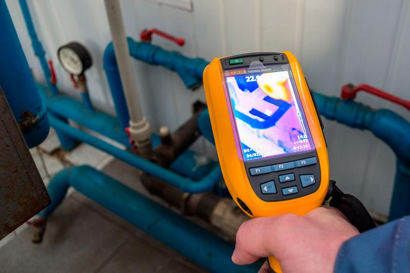 uso de las cámaras en la inspección de tuberías